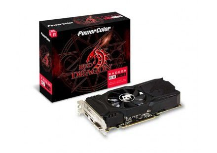 PLACA DE VÍDEO POWER COLOR RADEON RX 560 4GB GDDR5 128BITS