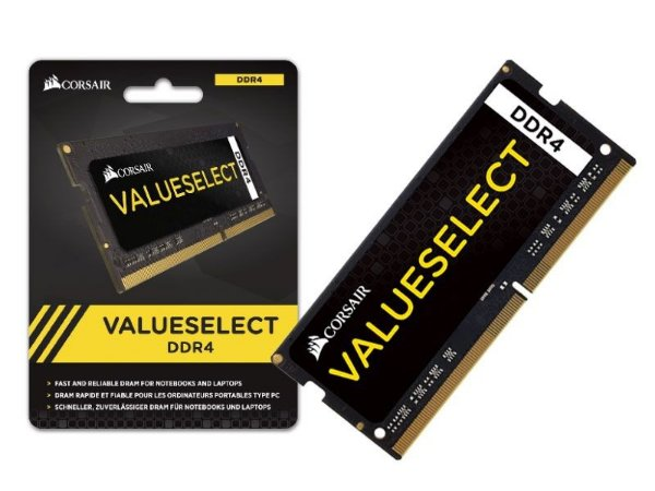 Memória Corsair Value Select 4GB 2133Mhz DDR4 p/ Notebook CL15