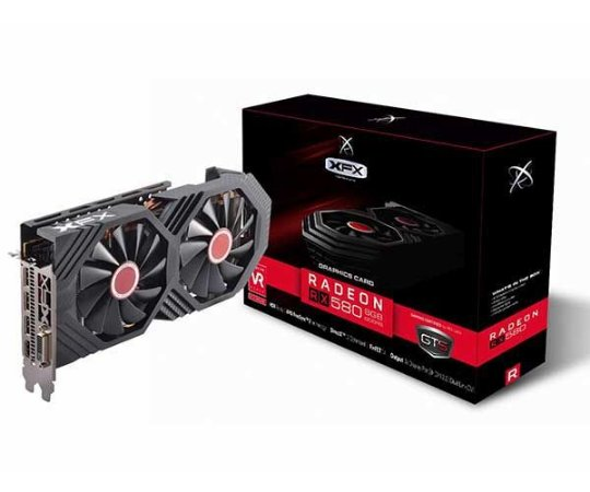 PLACA DE VÍDEO XFX RADEON RX 580 GTS 8GB GDDR5 1386MHZ XFX