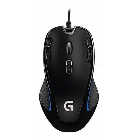 MOUSE GAMER LOGITECH G300S USB 2500DPI 1MS PRETO