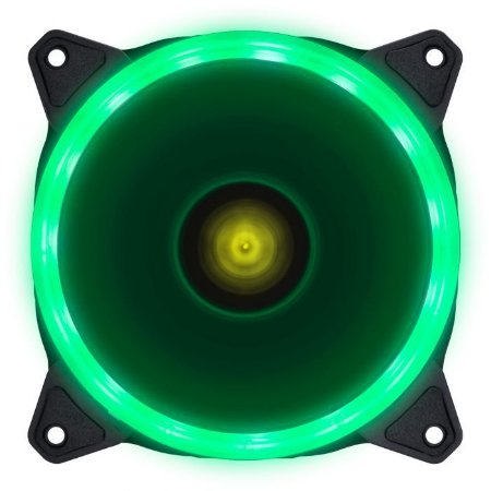 FAN/COOLER VX GAMING PARA GABINETE V.RING ANEL DE LED 120X120MM VERDE