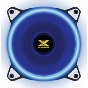 FAN/COOLER VX GAMING PARA GABINETE V.RING ANEL DE LED 120X120MM AZUL