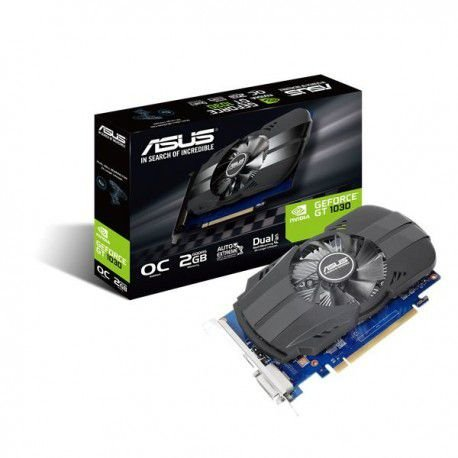 PLACA DE VÍDEO ASUS GEFORCE GT 1030 2GB GDDR5 PCI-EXP