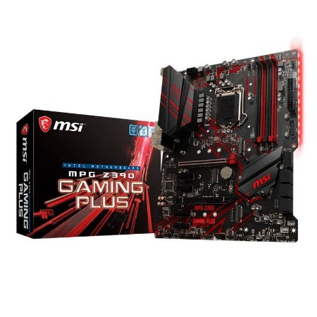 PLACA MAE MSI MPG Z390 GAMING PLUS LGA 1151, CHIPSET INTEL Z390