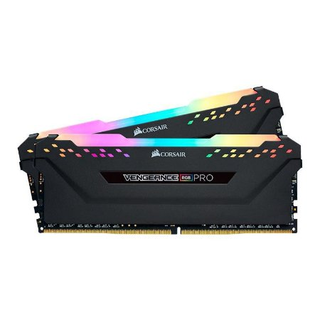 MEMORIA CORSAIR VENGEANCE RGB PRO 16GB (2X8) DDR4 3200MHZ, CMW16GX4M2C3200C16