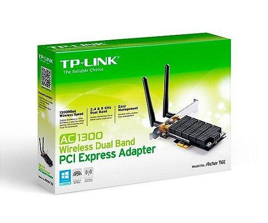 ADAPTADOR WI-FI TP-LINK AC1300 DUAL BAND PCI EXPRESS