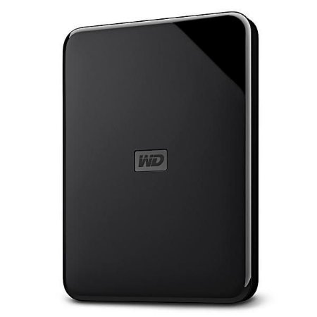 HD EXTERNO WD ELEMENTS SE 2TB USB 3.0 - Preto