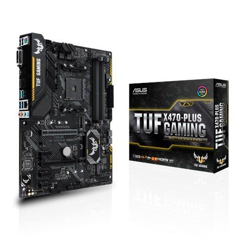PLACA MÃE ASUS X470-PLUS GAMING SOCKET AM4