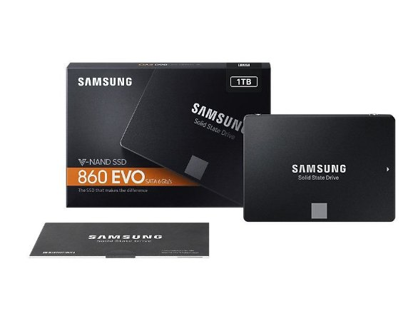 SSD SAMSUNG 860 EVO 1TB V-NAND SATA III 6gb/s 2,5 MZ-76E1T0