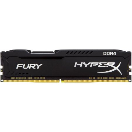 MEMÓRIA KINGSTON HYPERX FURY 16GB 2666MHZ DDR4 BLACK - HX426C16FB3/16