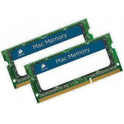 Memória Corsair Macmemory para Notebook 16GB (2x 8GB) DDR3 1600MHz - CMSA16GX3M2A1600C11