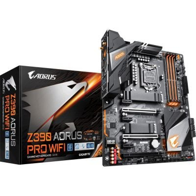 PLACA MÃE GIGABYTE Z390 AORUS PRO WIFI, INTEL LGA 1151, DDR4