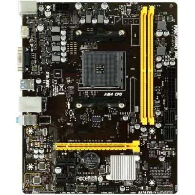 PLACA MÃE BIOSTAR B450MHC AMD SOCKET AM4 DDR4 - AB45BM4S-R01
