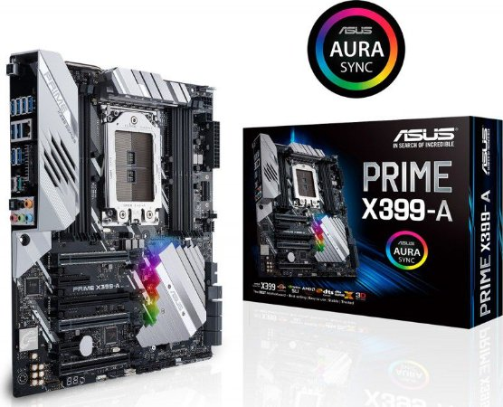 PLACA MÃE ASUS PRIME X399-A AMD SOCKET TR4 THREADRIPPER - 90MB0V80-M0EAY0