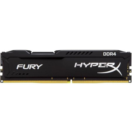 MEMÓRIA KINGSTON HYPERX FURY 4GB 2666MHz DDR4, PRETO  - HX426C15FB/4