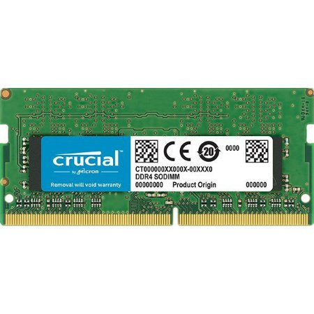 MEMÓRIA CRUCIAL NOTEBOOK 8GB 2400MHz DDR4 SODIMM, CT8G4SFS824A