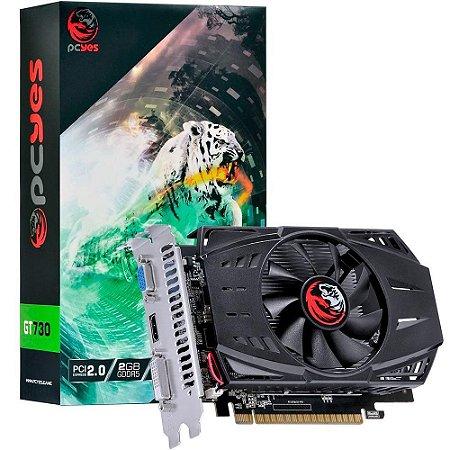 PLACA DE VÍDEO PCYES GT 730 2GB GDDR5 64 BITS, PA730GT6402G5