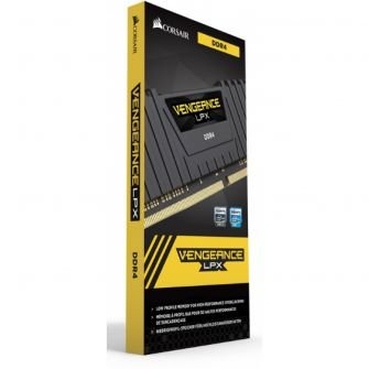 MEMÓRIA CORSAIR VENGEANCE LPX 8GB 3000MHZ DDR4, CMK8GX4M1D3000C16