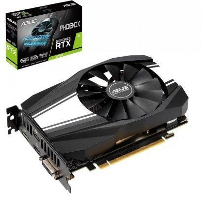 PLACA DE VÍDEO ASUS PHOENIX GEFORCE RTX 2060 6GB GDDR6, PH-RTX2060-6G