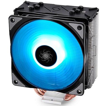 COOLER PARA PROCESSADOR DEEPCOOL GAMMAXX GTE RGB, AMD/Intel - DP-MCH4-GMX-GTE