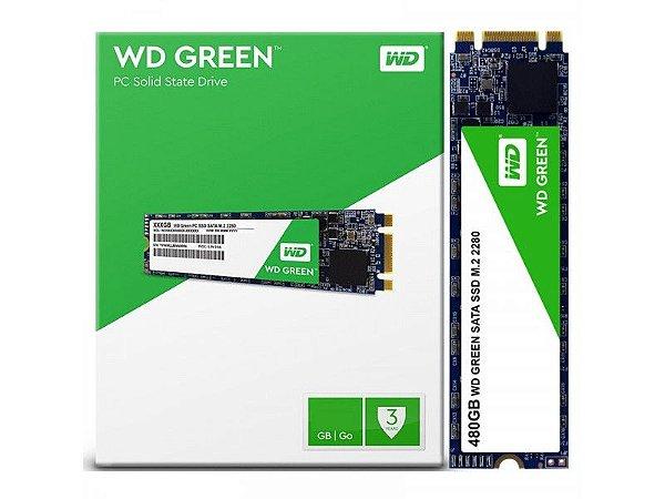 SSD WD GREEN 480GB M.2 2280, 545MB/s, WDS480G2G0B