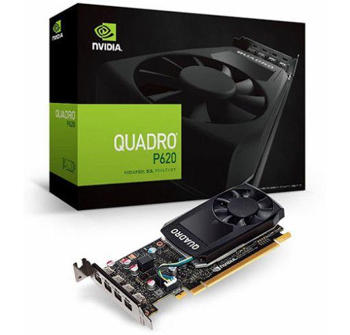 PLACA DE VÍDEO VGA PNY NVIDIA QUADRO P620, 2GB GDDR5 128 Bits - VCQP620-PORPB