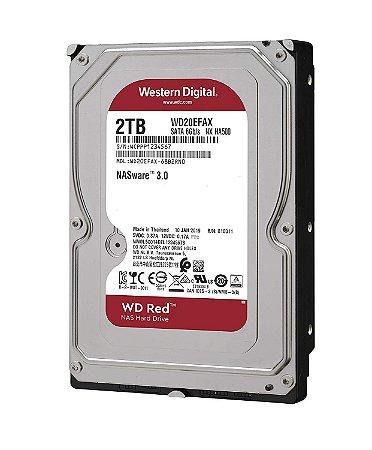 HD WD RED NAS 2TB, SATA 6Gb/s, NASware 3.0, WD20EFAX