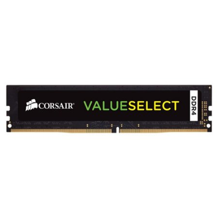 MEMÓRIA CORSAIR VALUESELECT 8GB 2133MHz, DDR4 - CMV8GX4M1A2133C15
