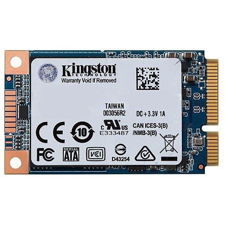 SSD KINGSTON UV500 240GB, mSATA, LEITURA 520MB/s, GRAVAÇÃO 500MB/s - SUV500MS/240G