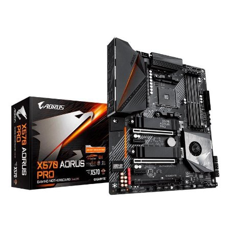PLACA MÃE GIGABYTE X570 AORUS PRO, AMD AM4, DDR4, CHIPSET AMD X570