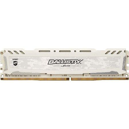 MEMÓRIA CRUCIAL BALLISTIX 16GB 3200MHz, DDR4, BRANCA - BLS16G4D32AESC