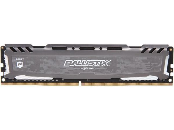 MEMÓRIA CRUCIAL BALLISTIX 16GB 3200MHz, DDR4, CINZA - BLS16G4D32AESB