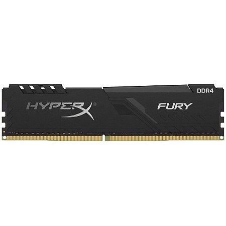 MEMÓRIA KINGSTON HYPERX FURY 8GB 3200MHz, DDR4 CL16 - HX432C16FB3/8