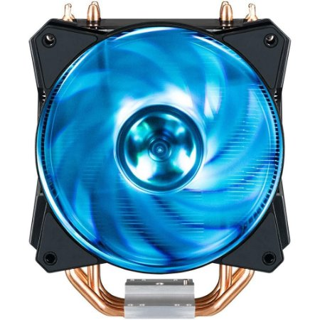 COOLER PARA PROCESSADOR COOLER MASTER INTEL/AMD MASTERAIR MA410P, RGB - MAP-T4PN-220PC-R1