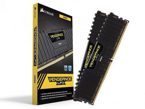 MEMÓRIA CORSAIR VENGEANCE LPX 32GB (2X16GB) 3000MHz, DDR4 - CMK32GX4M2B3000C15