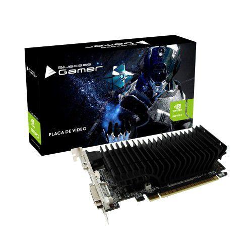 PLACA DE VÍDEO BLUECASE GEFORCE GT 210, 1GB DDR3, 64bits - BP-GT210-1GD3D1