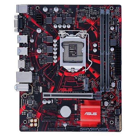 PLACA MÃE ASUS EX-B365M-V5, INTEL LGA 1151, mATX, DDR4