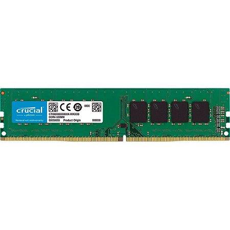 MEMÓRIA CRUCIAL NOTEBOOK 4GB 2666MHz, DDR4, CL19 - CT4G4DFS8266