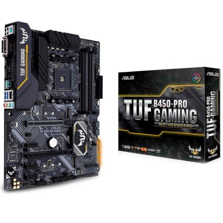 PLACA MÃE ASUS TUF B450-PRO GAMING, AMD AM4, ATX, DDR4 - 90MB10C0-M0EAY0