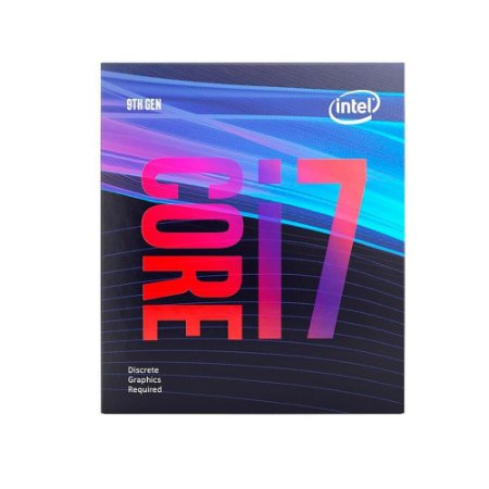 PROCESSADOR INTEL CORE I7-9700F, CACHE 12MB, 3.0GHz (4.7GHz Max Turbo), LGA 1151 - BX80684I79700F