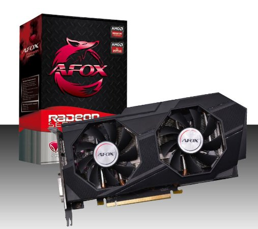 PLACA DE VÍDEO AFOX RADEON RX 580, 8192MB DDR5, AMD - AFRX580-8192D5H5