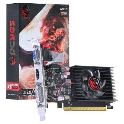 PLACA DE VÍDEO PCYES RADEON R5 230, 2GB DDR3, AMD, 64BITS - PJ230R56402GD3LP