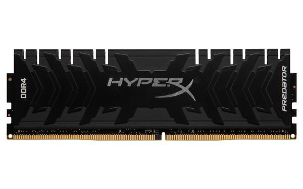 MEMÓRIA HYPERX PREDATOR 8GB 3200MHz, DDR4, CL16 - HX432C16PB3/8