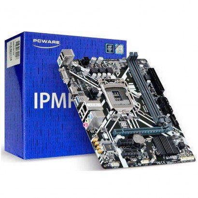 PLACA MÃE PCWARE IPMH310G DDR4 MATX LGA 1151 8ª E 9ª GERAÇÃO