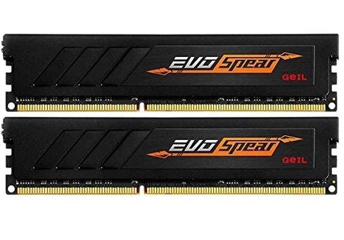MEMÓRIA 8GB (2 x 4GB) GEIL EVO SPEAR  288-Pin DDR4 SDRAM DDR4 2133 (PC4 17000) MODELO GSB48GB2133C15DC
