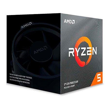 PROCESSADOR AMD RYZEN 5 3600XT HEXA-CORE 3.8GHZ (4.5GHZ TURBO) 35MB CACHE AM4 - 100-100000281BOX