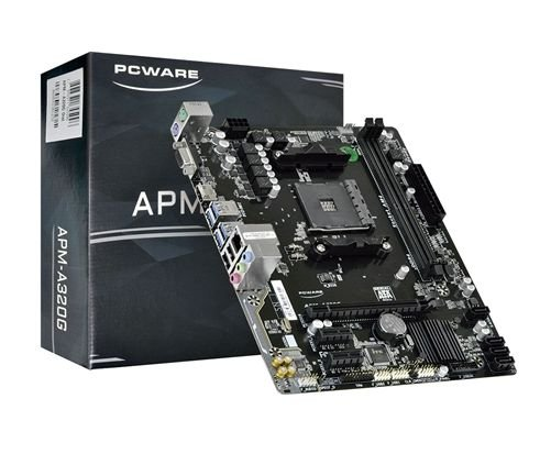 PLACA MÃE PCWARE PARA AMD AM4 APM-A320G DDR4