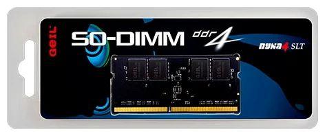 MEMÓRIA 8GB DDR4 2666MHZ GEIL SO-DIMM - NOTEBOOK - GS48GB2666C19SC