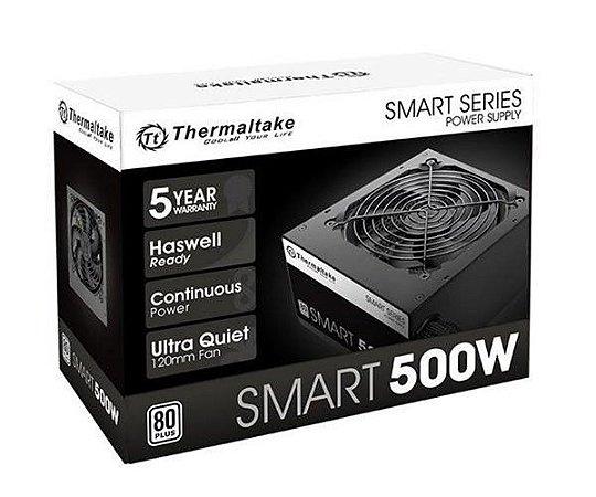 FONTE THERMALTAKE SMART 500W 80PLUS WHITE - SPD-0500P