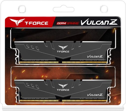 MEMÓRIA DDR4 T-FORCE VULCAN-Z 16GB (2X8GB) 3200MHZ - TLZGD416G3200HC16CDC01